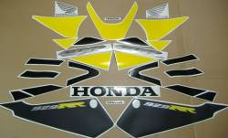Honda 929RR 2001 Fireblade  yellow reproduction decals