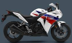 Honda CBR 250R 2013 white stickers