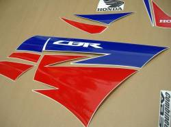 Honda CBR 250R 2013 white decals kit