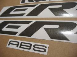 Kawasaki ER 6F 2007 silver full decals kit