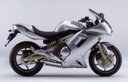 Kawasaki ER-6F 2007 complete sticker kit