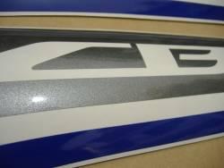 Honda CBR 600F 2013 white stickers kit