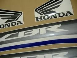 Honda 600F 2013 white labels graphics