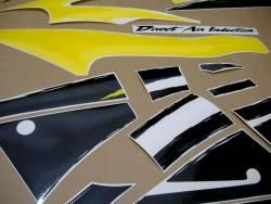 Honda cbr 600 f3 1997 yellow black adhesives