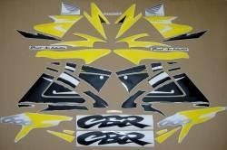 Honda cbr 600 f3 1997 yellow graphics set