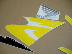 Honda 600 F3 1997 yellow complete sticker kit