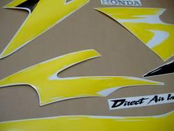 Honda 600 F3 1997 yellow stickers set