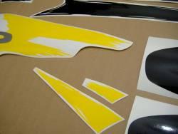 Honda 600 F3 1997 yellow logo graphics