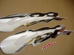 Honda 600 F3 1997 red complete sticker kit