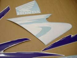 Honda CBR 600 F3 1997 white adhesives set