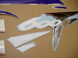 Honda CBR 600 F3 1997 white decals kit