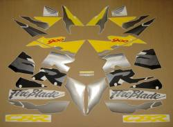Honda 919RR 1996 SC33 black stickers set
