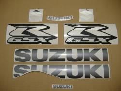 Suzuki GSX-R 1000 2009 white decals kit