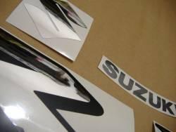 Suzuki GSXR 1000 K9 white stickers