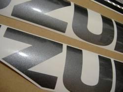 Suzuki 1000 2009 white stickers kit