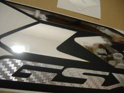 Suzuki GSXR 1000 2009 white labels graphics
