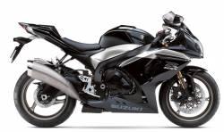 Suzuki GSXR 1000 2009 black decals