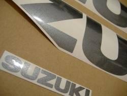 Suzuki 1000 2009 burgundy complete sticker kit