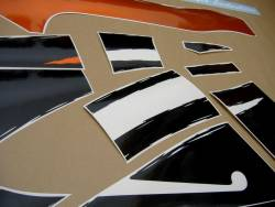 Honda 600 F3 1998 orange stickers set