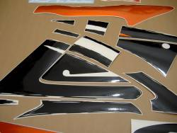 Honda CBR 600 F3 1998 orange decals kit
