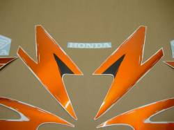 Honda 600 F3 1998 orange logo graphics