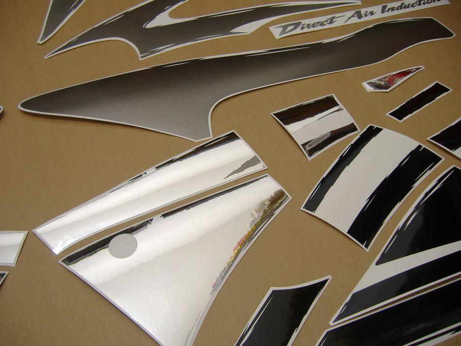 Honda F Gray Full Decals Kit on 1998 Honda Logo