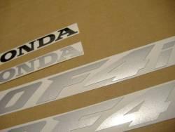 Honda CBR 600 F4i 2005 burgundy labels graphics