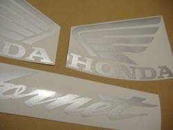 Honda CB600F 2002 Hornet blue decals