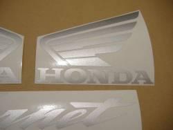 Honda CB 600F 2002 Hornet blue stickers