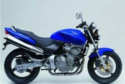 Honda 600F 2002 blue full decals kit
