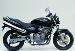 Honda CB600F 2003 Hornet black decals