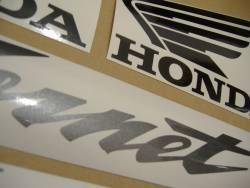 Honda 600 F4i 2005 Hornet silver stickers set