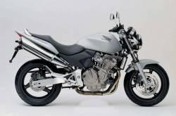 Honda CB 600F 2005 silver labels graphics