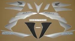 Honda CBR 125R 2009 black decals kit