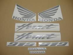 Honda 919F 2004 green full decals kit