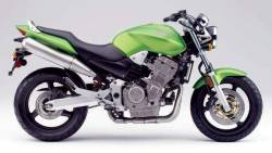 Honda CB 919F 2004 Hornet green decals kit