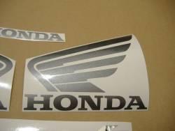 Honda 600F 2005 Hornet black logo graphics