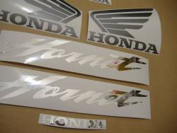 Honda CB600F 2005 Hornet black decals