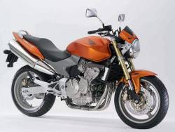 Honda CB 600F 2006 Hornet orange stickers kit
