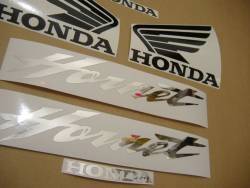 Honda 600F 2006 Hornet orange logo graphics