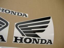 Honda 600F 2006 orange complete sticker kit