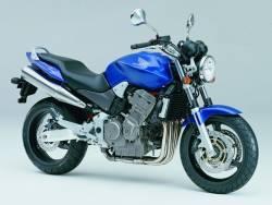 Honda 600F 2005 Hornet blue logo graphics