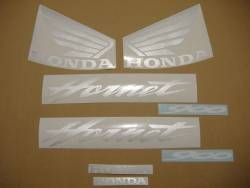 Honda CB600F 2005 Hornet blue decals