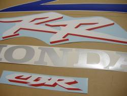 Honda 954RR 2003 Fireblade SC50 blue decal set