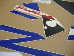 Honda 954RR 2003 Fireblade blue stickers set