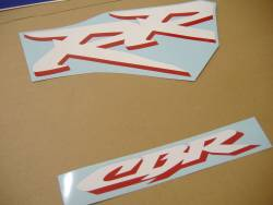 Honda CBR 954RR 2003 SC50 blue decals kit
