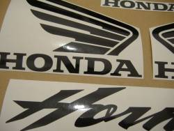 Honda 2004 Hornet blue restoration decals