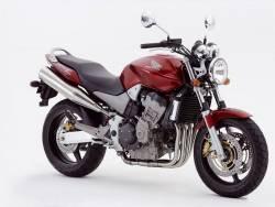Honda CB900F 2003 Hornet red adhesives set