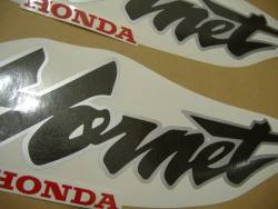 Honda CB 600F 2000 black labels graphics