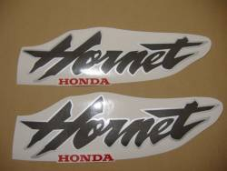 Honda CB 600F 2000 Hornet black decals kit